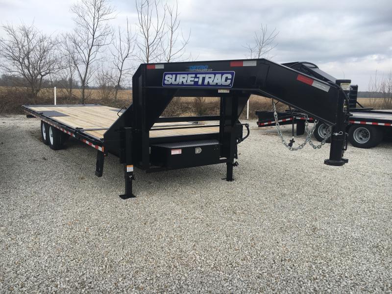2019 Sure-Trac 102x22+4 Deckover Tilt Tandem GN 15K in Ashburn, VA