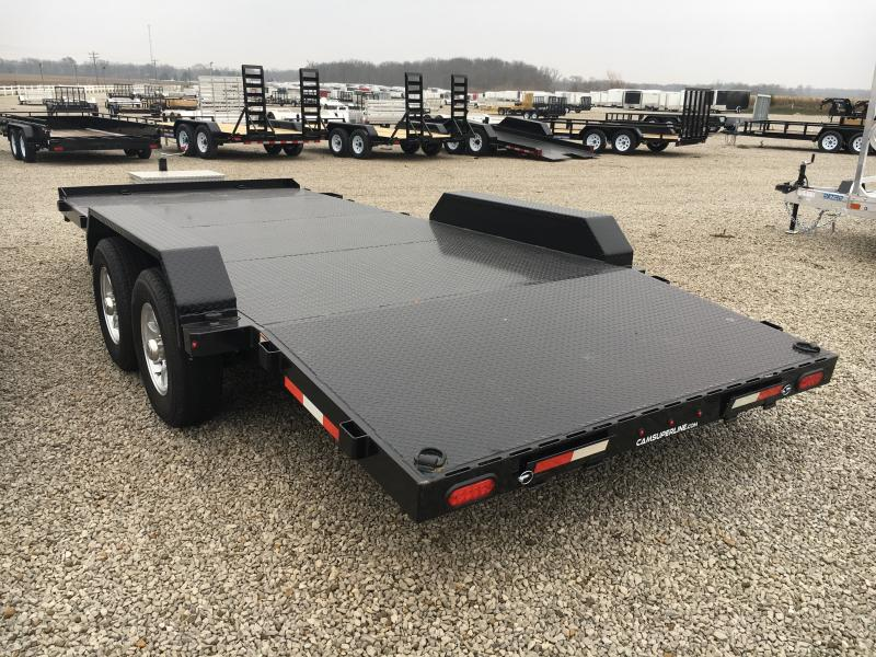 2019 Cam Superline 82X18 STEEL CAR HAULER Car / Racing Trailer