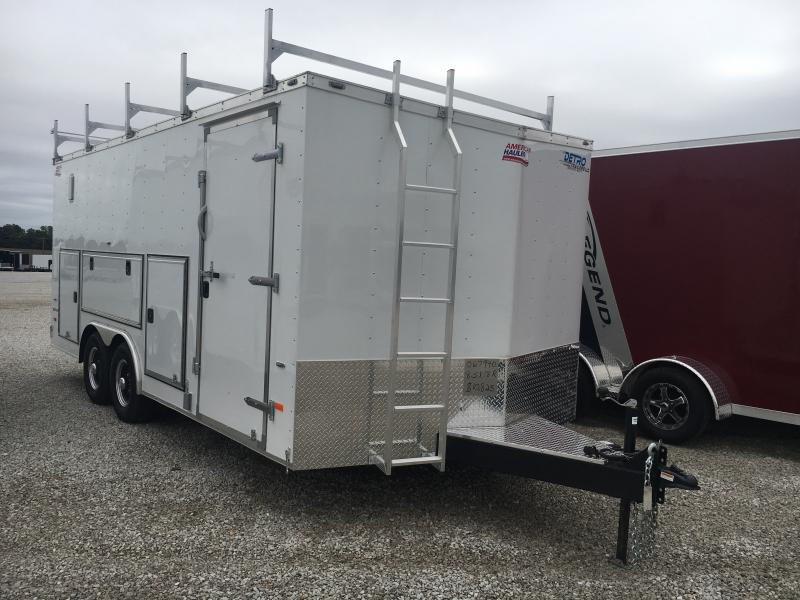 2019 American Hauler Industries 8.5X18 Enclosed Cargo Trailer
