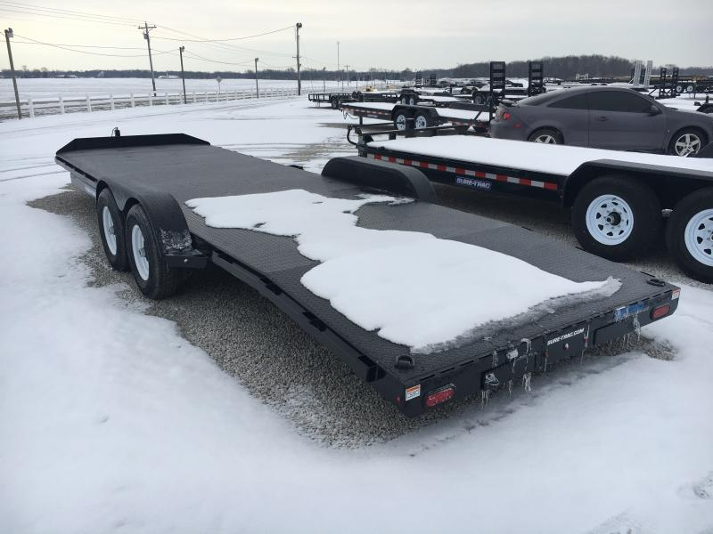 2019 Sure-Trac 7 x 24 Steel Deck Car Hauler 10K