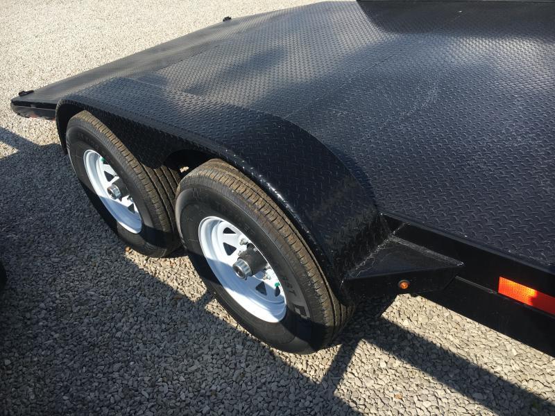 2019 Sure-Trac 7 x 18 Steel Deck Car Hauler 10k