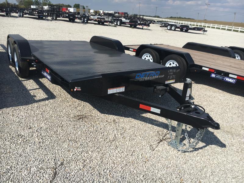 2019 Sure-Trac 7 x 18 Steel Deck Car Hauler 10k in Ashburn, VA