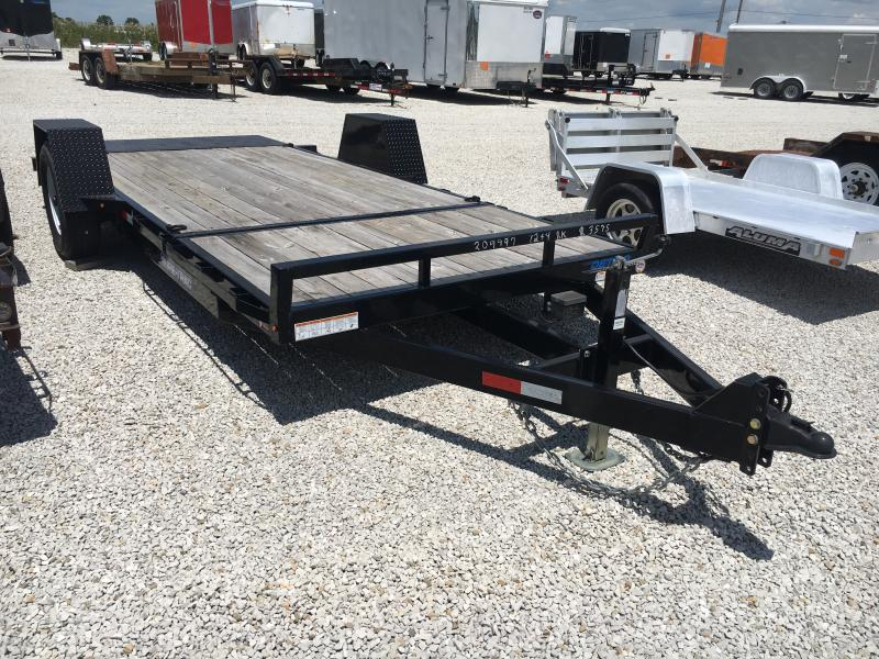 2017 Sure-Trac 78X12+4 Flatbed Trailer
