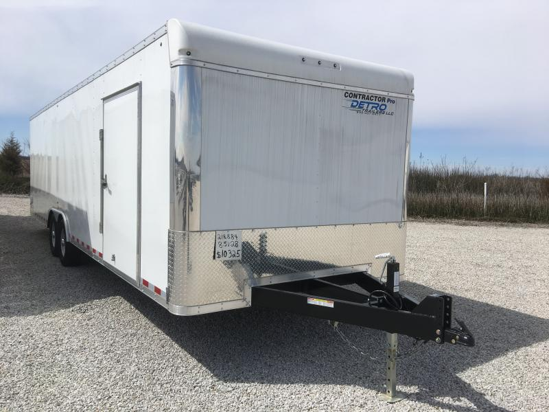 2018 Sure-Trac 8.5 x 28 Contractor Pro BN Cargo TA 14K