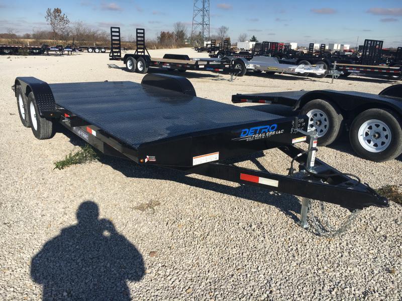 2019 Sure-Trac 7 x 20 Steel Deck Car Hauler 7k