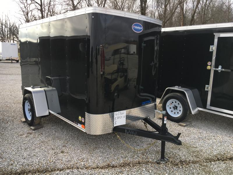 2019 United Trailers 5X10 Enclosed Cargo Trailer in Ashburn, VA