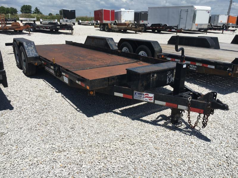 USED 2014 Liberty 16+4 Equipment Trailer in Ashburn, VA