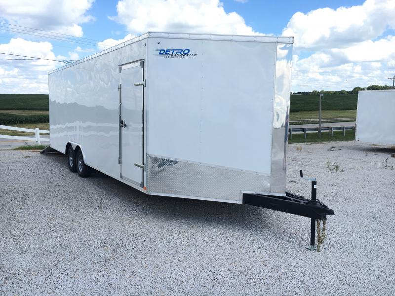 2018 Discovery Trailers 8.5X24 EXTRA WIDE AIRPLANE HAULER Enclosed Cargo Trailer