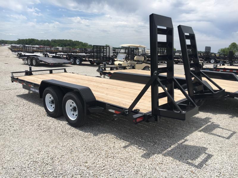 2019 Sure-Trac 7 x 18 Implement 10K Flat Deck