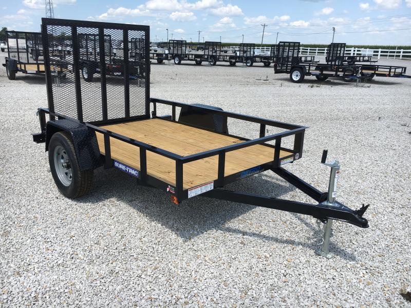 2020 Sure-Trac 5 x 8 Angle Iron Utility  3k Idler