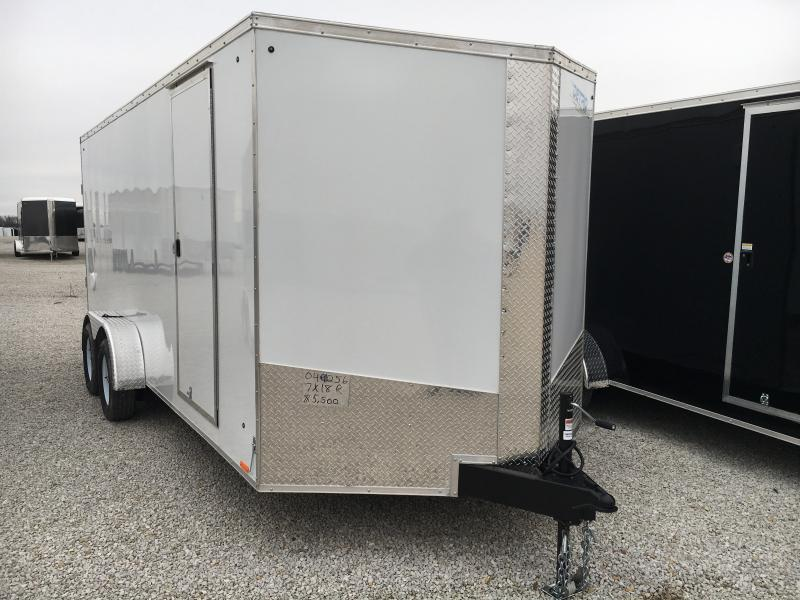 2019 Cargo Express 7X18 Cargo / Enclosed Trailer