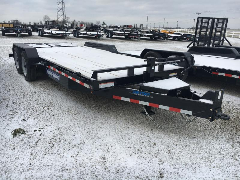 2019 Sure-Trac 7 x 15+3 Implement HD Univ Ramp 16K