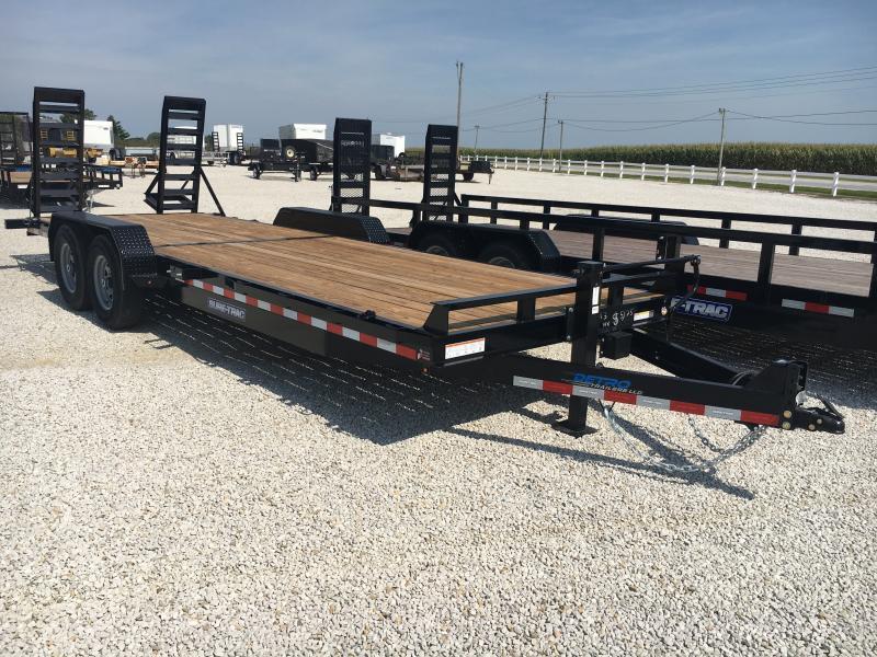 2020 Sure-Trac 7 x 22 Equipment Trailer  14K Flat Deck