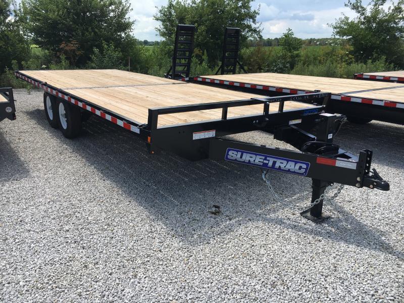 2019 Sure-Trac 8.5 X 22 Ft Standard Duty Flatbed Deckov