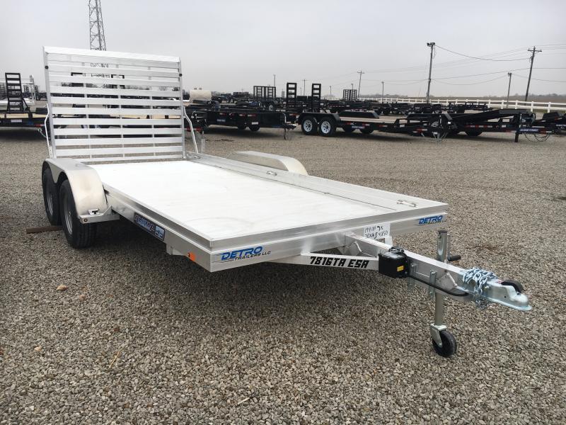 2019 Aluma 78X16 Utility Trailer