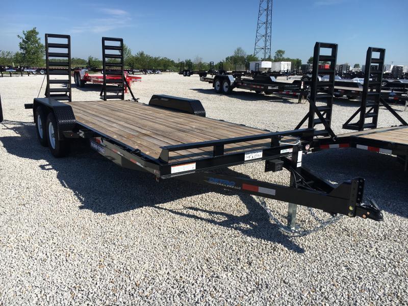 2018 Sure-Trac 7 x 18 Implement 10K Flat Deck