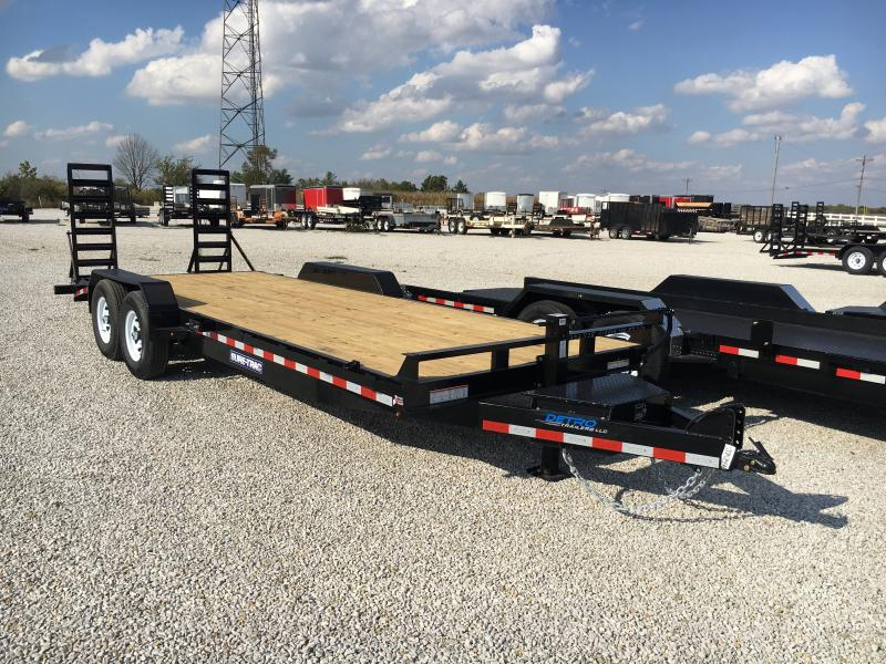 2019 Sure-Trac 7 x 22  Implement Trailer 14K