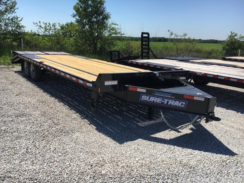 2018 Sure-Trac 8.5 X 20+5 Low Pro Deckover Tandem 17.6K in Ashburn, VA