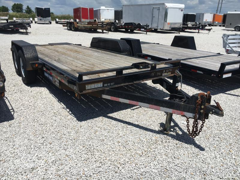 USED 2013 Sure-Trac 18' Equipment Trailer