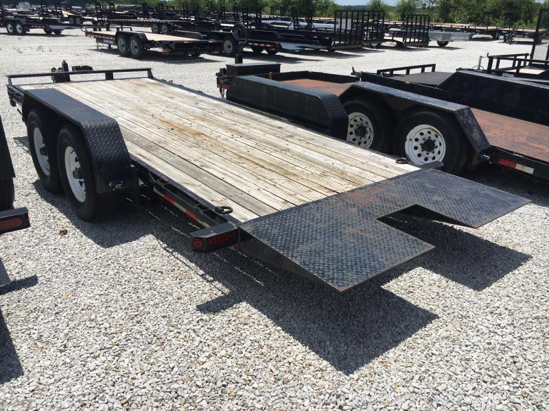 USED 2013 Sure-Trac 18' Equipment Trailer