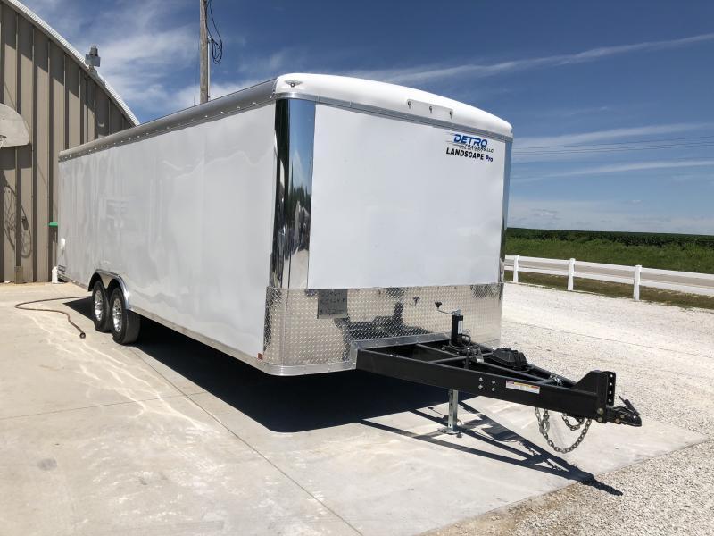 2018 Sure-Trac 8.5 x 24 Landscape Pro RT Cargo TA 10K