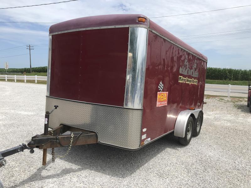 Used 2000 Southwest 7X14 Enclosed Cargo Trailer in Ashburn, VA