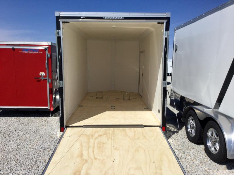 2018 United Trailers 7X14 Motorcycle Trailer