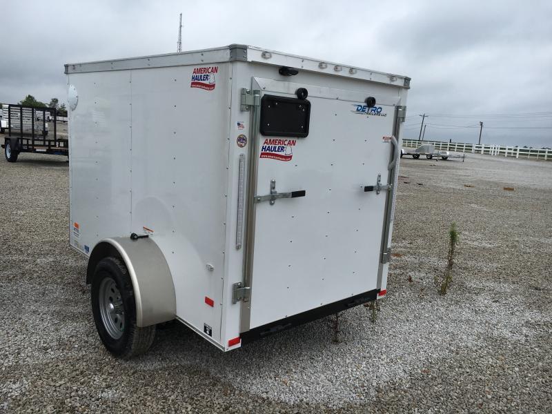 2018 American Hauler Industries 5X8 Enclosed Cargo Trailer
