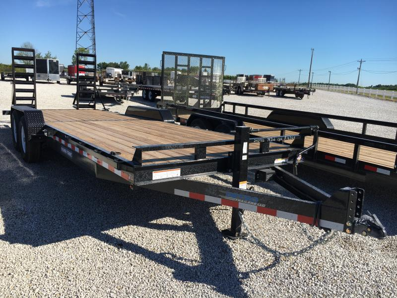 2018 Sure-Trac 7 x 22 Implement 14K Flat Deck