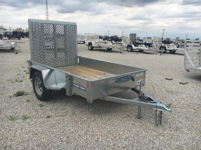 2018 Sure-Trac 5 x 8 Galvanized High Side 3k Idler