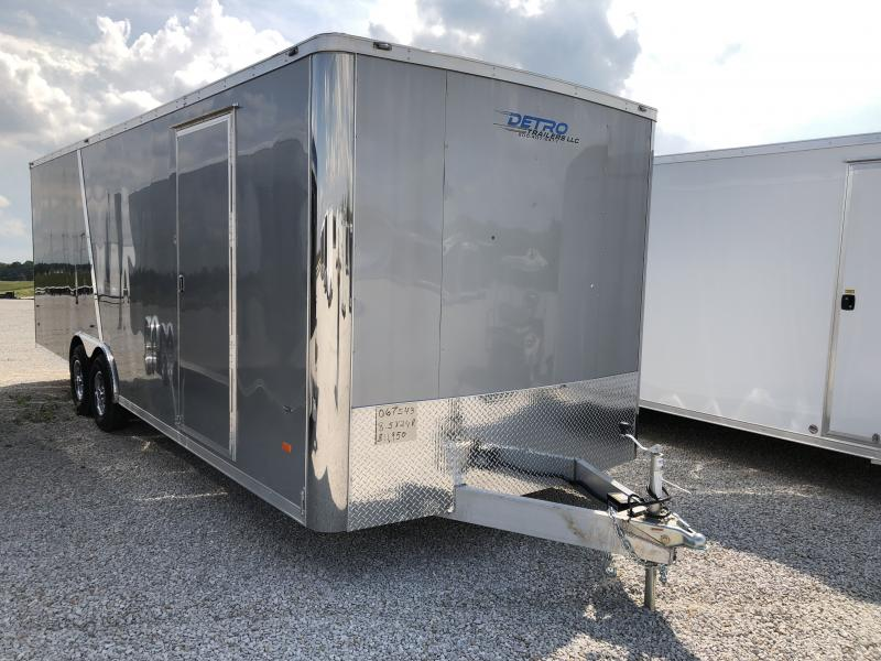 2018 American Hauler Industries 8.5X24 NIGHT HAWK Car / Racing Trailer