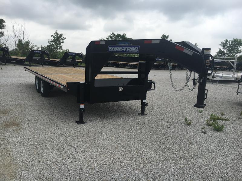 2019 Sure-Trac 8.5 X 22 Ft Standard Duty Flatbed GN Dec