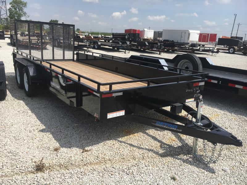 2019 Sure-Trac 7 X 18 Steel High Side  7K Tandem