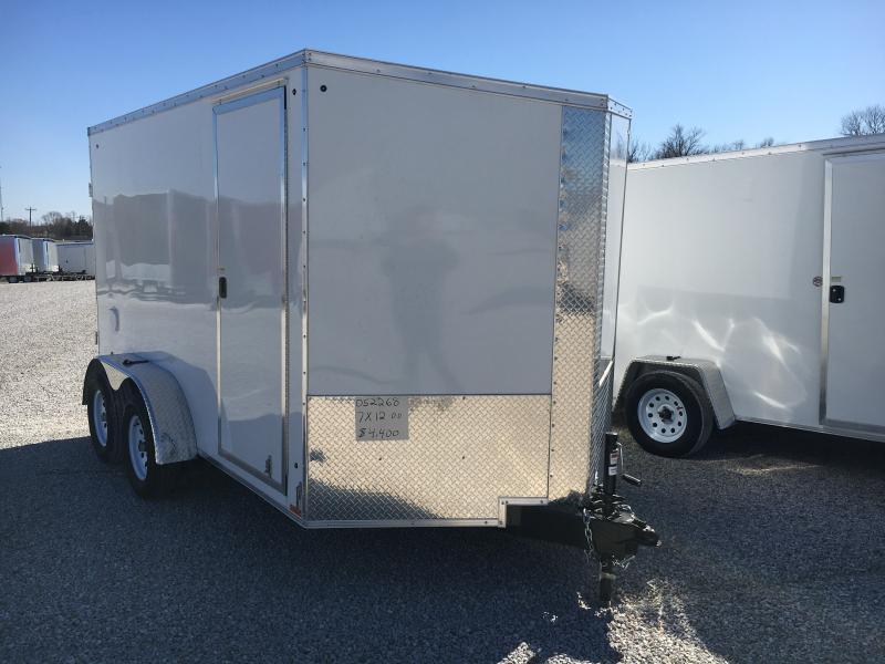 2020 Cargo Express 7X12 Cargo / Enclosed Trailer