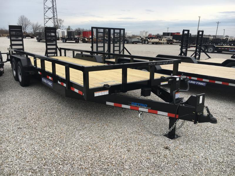 2019 Sure-Trac 7 x 22 16K Heavy Duty Equipment Trailer