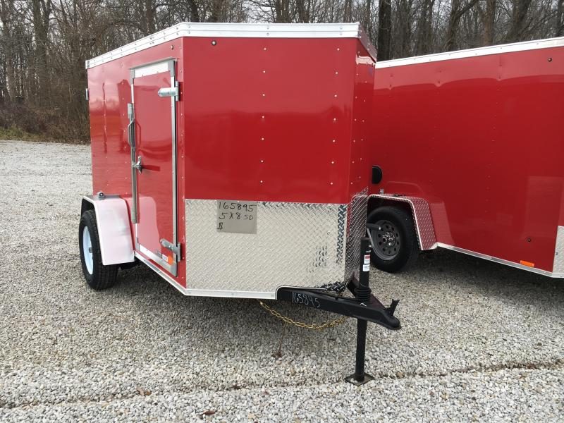 2019 United Trailers 5X8 Enclosed Cargo Trailer in Ashburn, VA