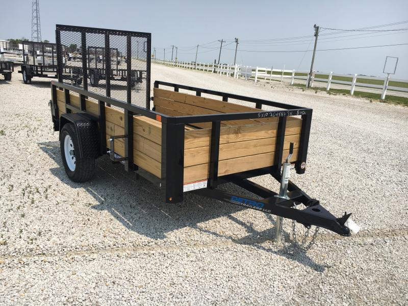 2019 Sure-Trac 5 X 10 Tube Top Three Board  3K Idler