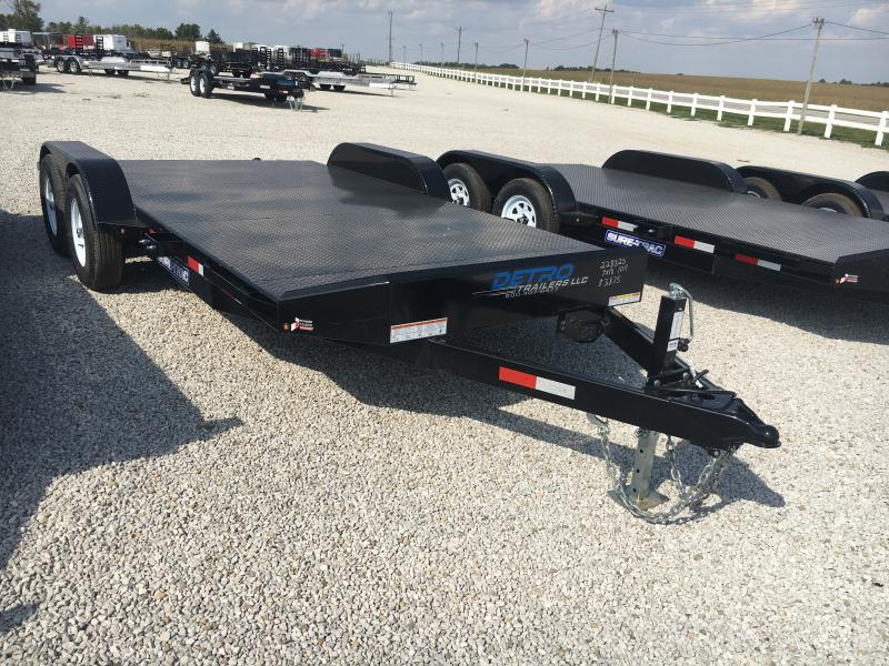 2018 Sure-Trac 7 x 18 Steel Deck Car Hauler 10k