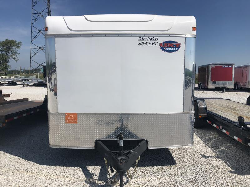 Used 2015 United Trailers 8.5X22 Enclosed Cargo Trailer
