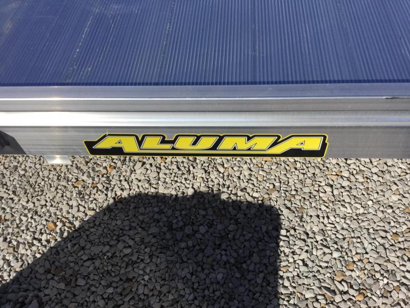 2018 Aluma 6810 Flatbed Trailer