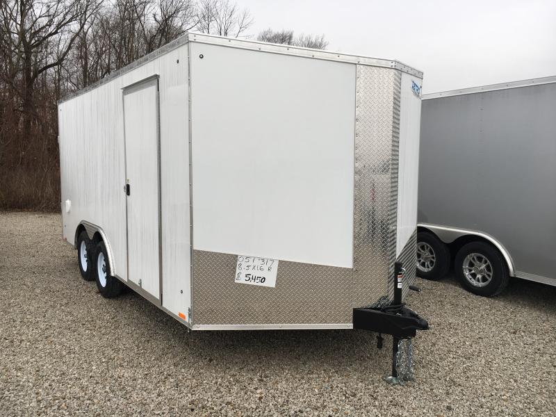 2019 8.5X16 Cargo / Enclosed Trailer