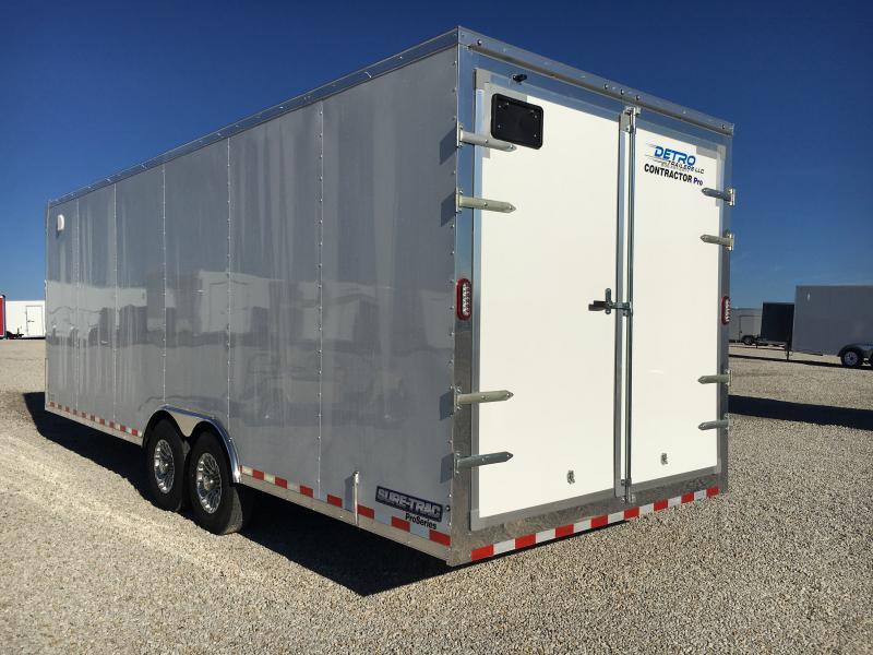 2019 Sure-Trac 8.5 x 24 Contractor Pro BN Cargo TA 14K