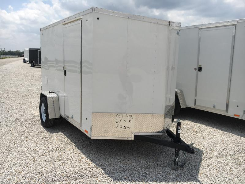 2019 Cargo Express 6X10 Enclosed Cargo Trailer