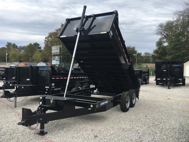 2019 Sure-Trac 82 IN X 14 LP 16K Telescopic Dump
