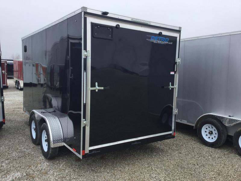 2019 Cargo Express Xlw Se 7' Wide Cargo Flat Top Cargo / Enclosed Trailer