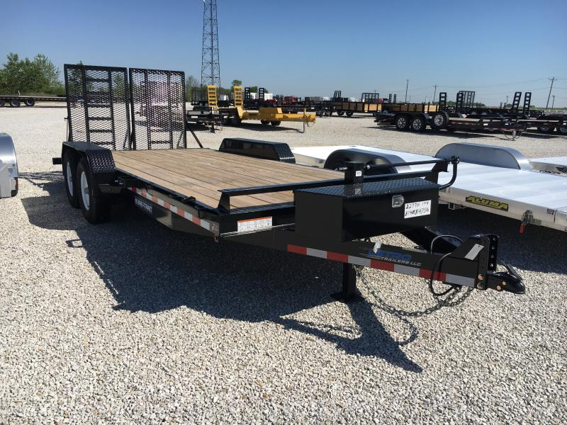 2018 Sure-Trac 7 x 18  Implement Trailer 14K in VA