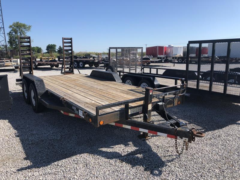 USED 2007 Load Trail 18' Equipment Trailer in Ashburn, VA