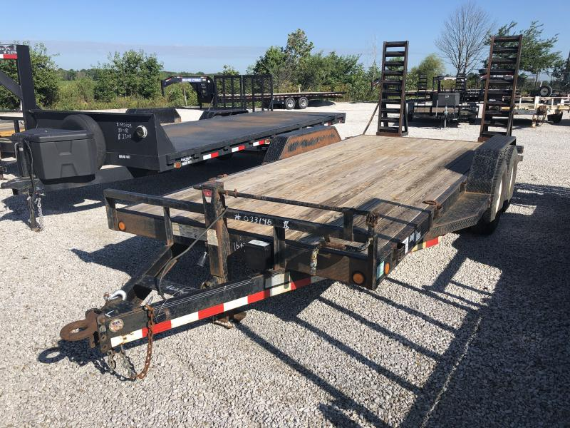 USED 2007 Load Trail 18' Equipment Trailer