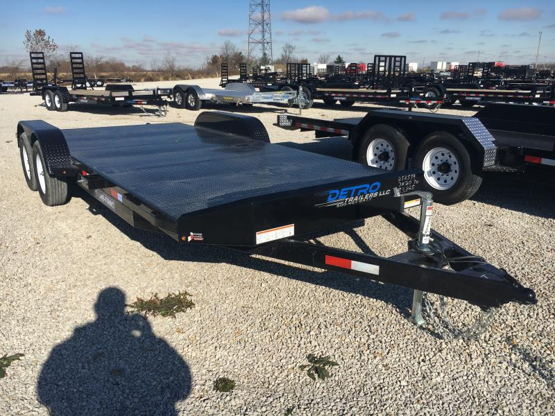 2019 Sure-Trac 7 x 20 Steel Deck Car Hauler 7k