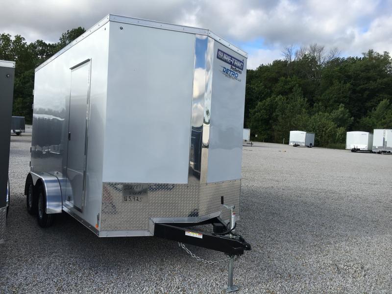 2018 Sure-Trac 7 x 14 Pro Series Wedge Cargo TA 7K
